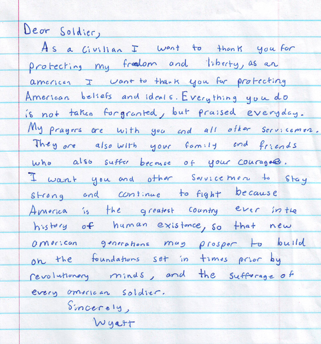 HOME - Help Our Military Endure: Letters to Our Soldiers